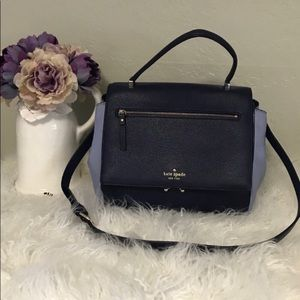 Kate Spade Satchel Leather Shoulder Bag Colorblock
